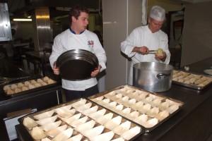 chef Marco Marrone e Renato Lucarini