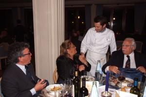 Il nuovo socio Pasqualini, Rosanna si complimenta con Paolo Antinori e Roscioni